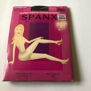 SPANXS Black Super High Shaping Sheers Size C